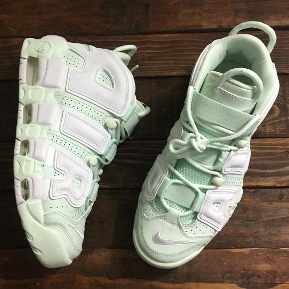 a212eedb6d Nike Shoes | Air More Uptempo Barley Greenwhite | Poshmark
